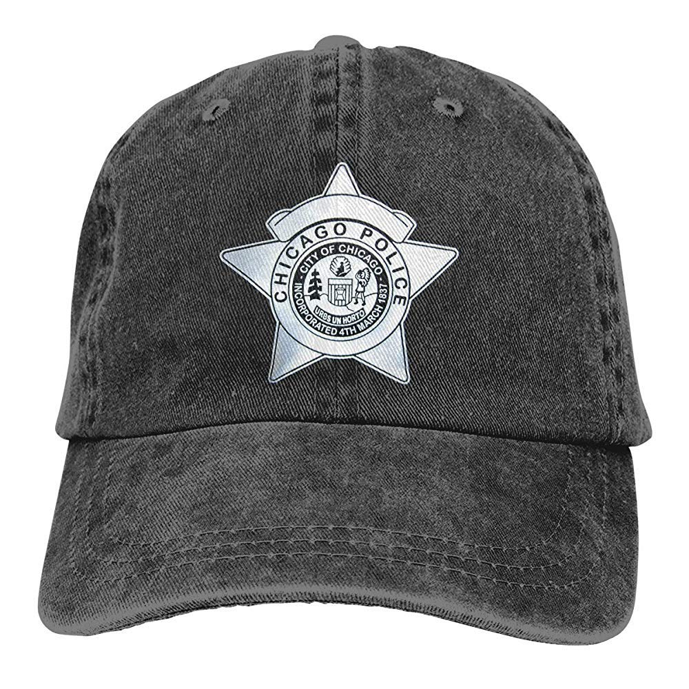 Jocper Sombrero de Mezclilla Lavado de la policía de Chicago ...