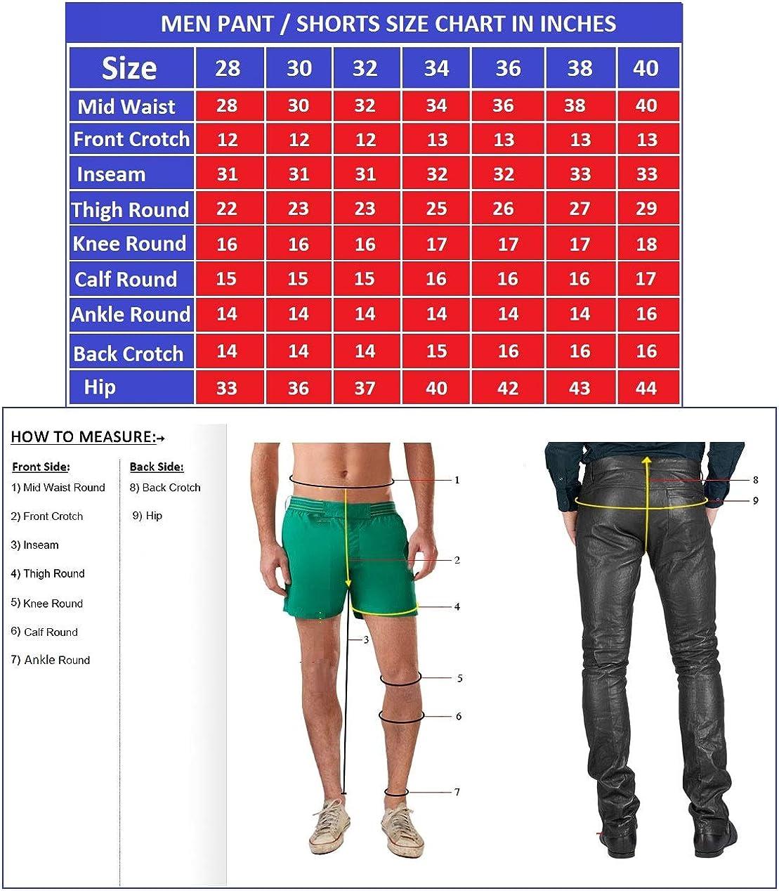 Leather Image Mens Leather Pant Genuine Lambskin Skinny Slim fit Leather Pants ES08