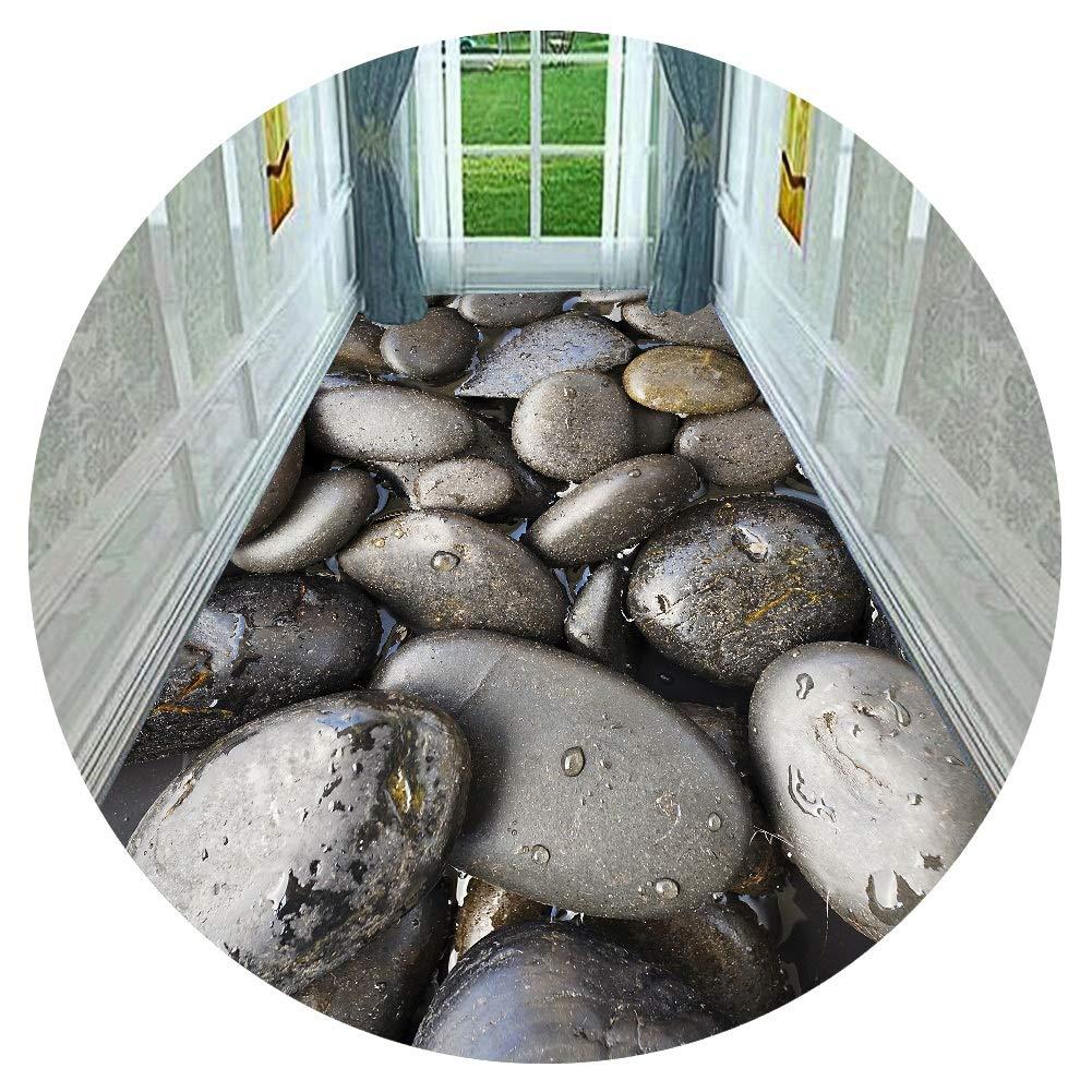 HAIPENG 廊下敷きカーペット 石 設計 ランナー ラグ にとって 廊下 あり 滑り止め バッキング 床 カーペット 3D 廊下 ドア マット 洗える カスタマイズされた (色 : A, サイズ さいず : 0.8x7m) B07S9ZL6H5 A 0.8x7m