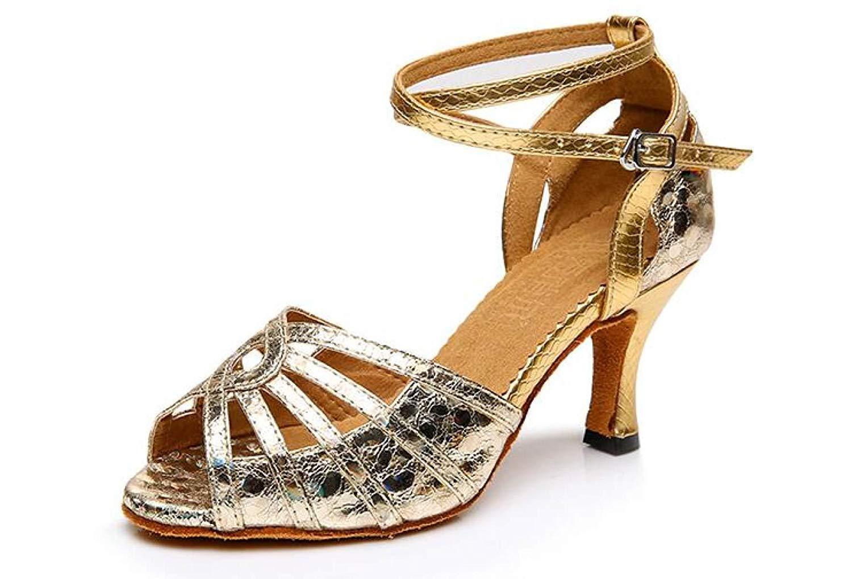 Femme Salsatango Yingsssq Chaussures De Latine Sequins Pour Danse À Yf7v6mbIgy
