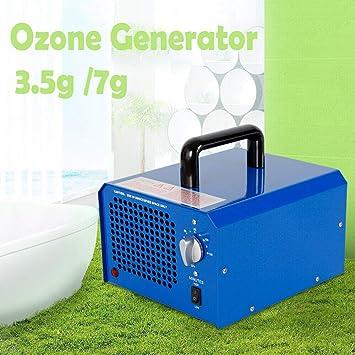 Yiyiby - Generador de ozono (3,5 g/7 g, desintoxicación, con ...