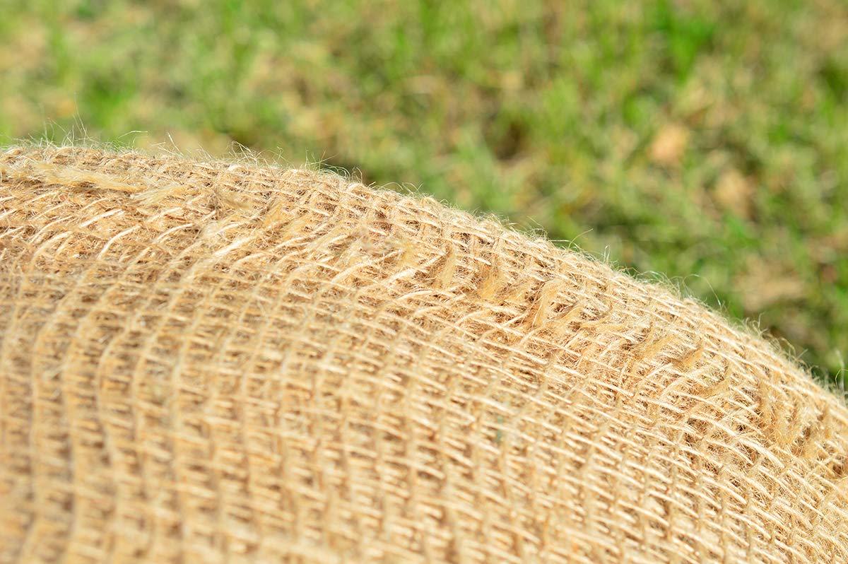 Roban Fashion jutematte Gartenjute f/ür Pflanzen Wurzel-Schutz Jute Stoff 60 cm breit nat/ürlicher Stoff meterware Sackleinen f/ür Haus /& Garten,60cm Breit,1m L/änge