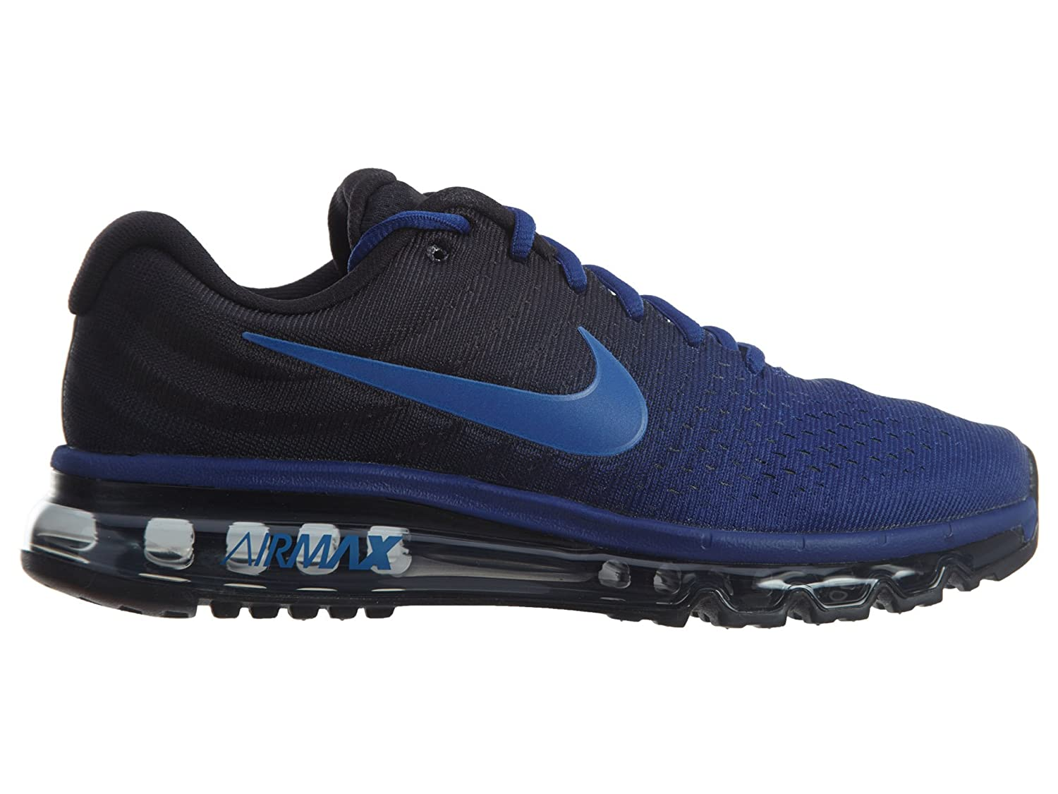 8009445f68 Nike Men s Air Max 2017 Running Shoe Deep Royal Blue/Hyper Cobalt/Black 9  D(M) US: Buy Online at Low Prices in India - Amazon.in