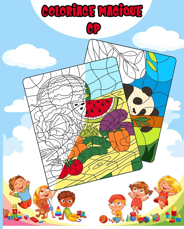 Coloriage Magique Cp Coloriage Anti Stress Pour Enfants Animaux French Edition Dsfsf 9798601591508 Amazon Com Books
