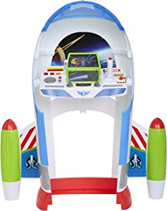 Toy Story B07GXLZQL9 Disney 4 Buzz Lightyear Star Command Center with Lights & Sounds! 3 Ways to Play, Flight, Desk Or Launch Modes! Encourage Imagination Play for Any Fan!