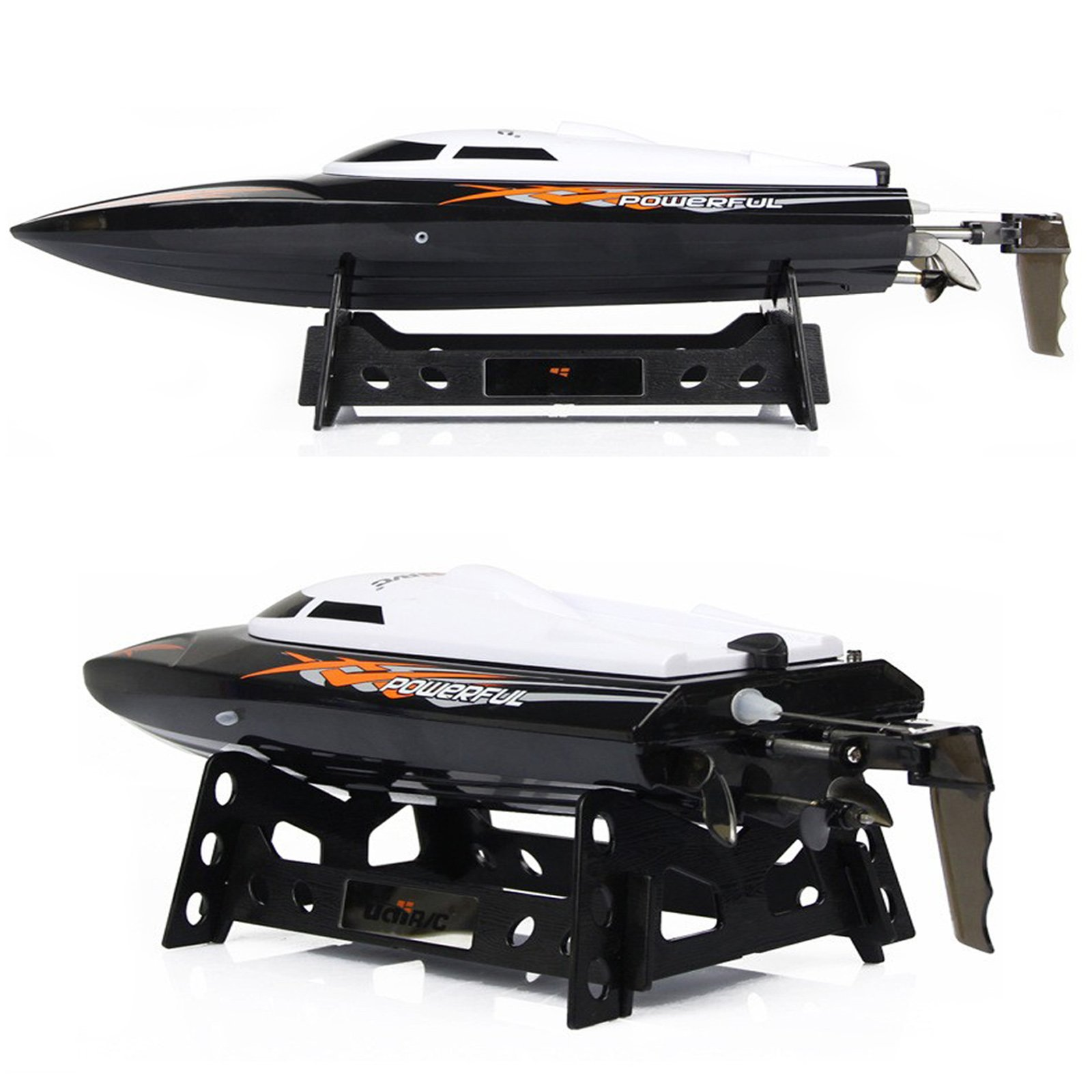 Cheerwing RC Racing Boat for Adults - High Speed Electronic Remote Control Boat for Kids, Black by Cheerwing (Image #2)