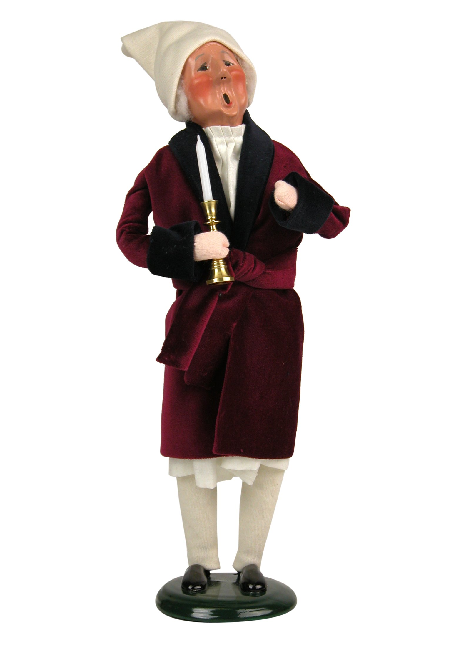 Byers' Choice Scrooge Caroler Figurine #201 from A Christmas Carol
