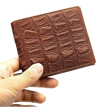 acheter en ligne 11d05 f57ca Portefeuille Homme Porte-Monnaie à Motif en Crocodile ...