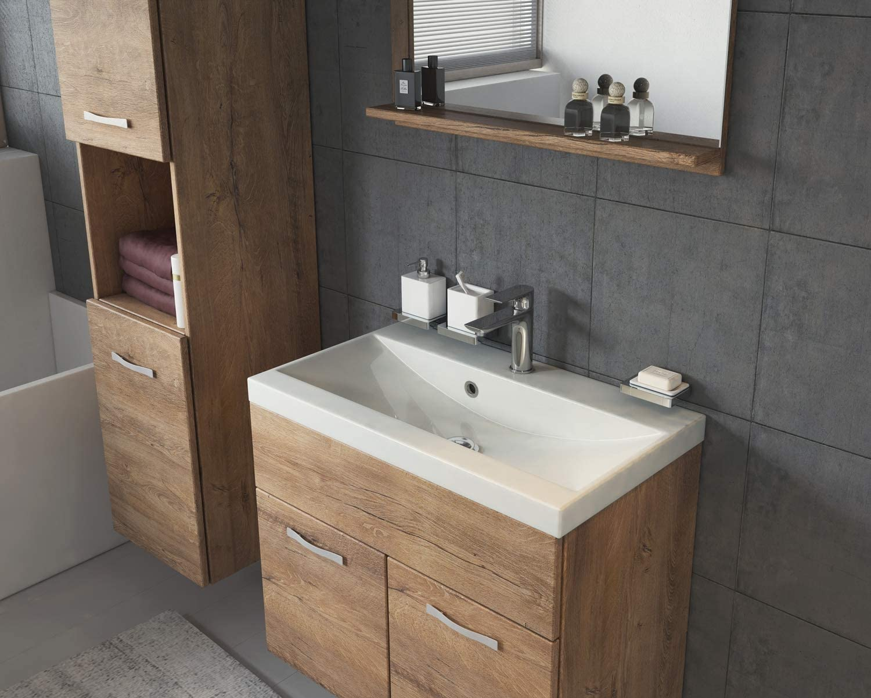 Badplaats B.V. Bathroom furniture set Montreal 60cm basin Wotan - Storage cabinet vanity unit sink furniture Lefkas
