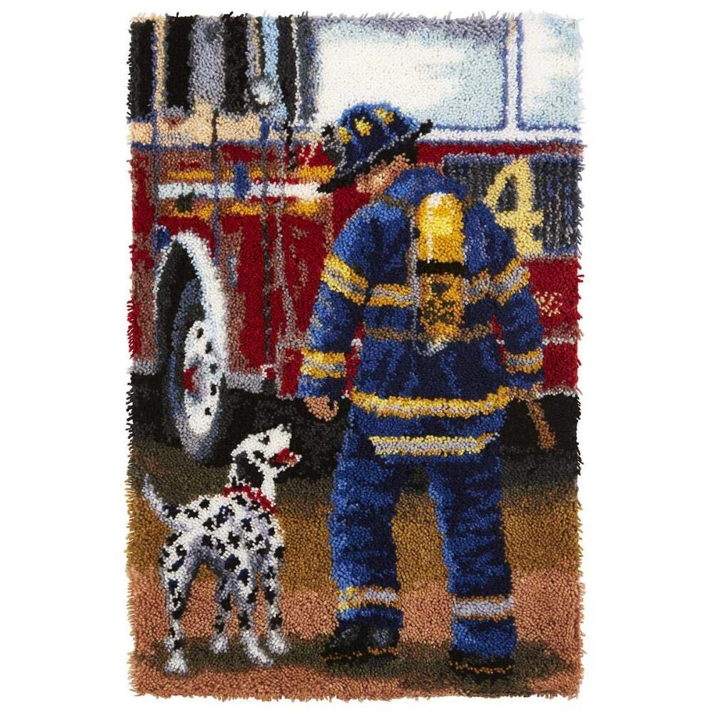 Herrschners/® Firefighter Latch Hook Kit