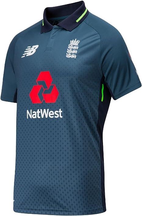 Hermana Detenerse Puno  New Balance Mens 2018/19 England Cricket ODI Replica Shirt Blue Top Sports:  Amazon.co.uk: Sports & Outdoors