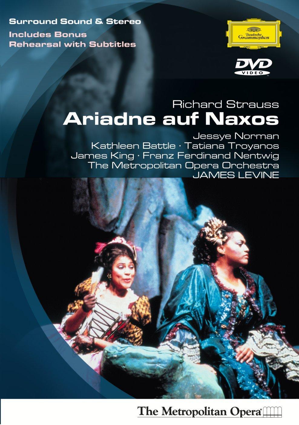 DVD : Metropolitan Opera Orchestra - Ariadne Auf Naxos (DVD)
