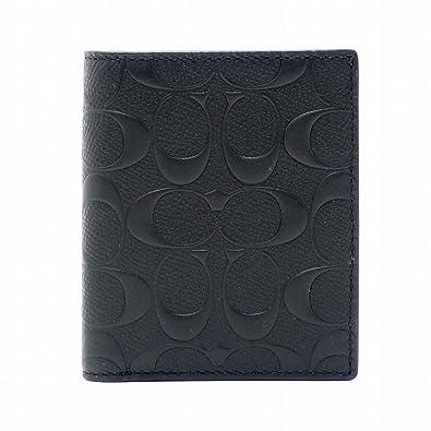 pretty nice b50be 237a4 Amazon   [コーチ] COACH 財布 メンズ 二つ折り財布 レザー ...