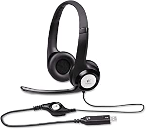 Logitech New logitech h390 USB Headset with noisecanceling Microphone Bulk Packaging, 5.8 Ounce