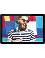 """Huawei Mediapad T5 10 Tablet LTE con Display Full HD (1920 x 1200) da 10.1"""" in 16:10, Processore da 2.3 GHz, Memoria RAM da 3 GB, Memoria Interno da 32 GB, Nero"""