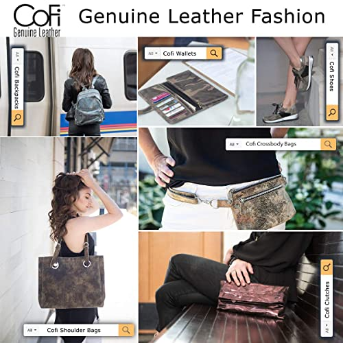 29a27b512929 CoFi Handmade Genuine Full Grain Leather Diana Hobo Bag - Over 15 Unique  Patterns