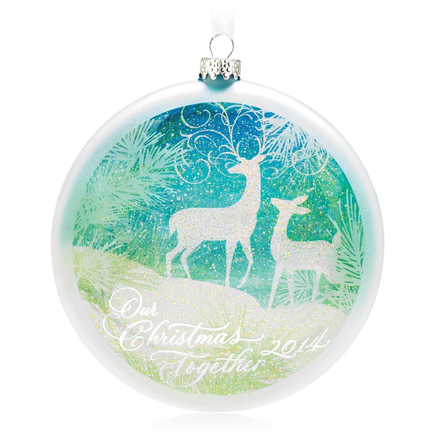 Amazon: Hallmark Qgo1163 Our Christmas Together 2014  Keepsake Ornament:  Home & Kitchen
