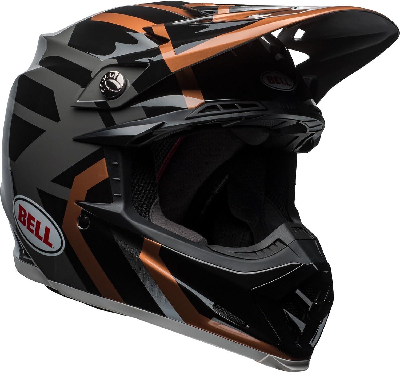 Blue//Orange Size XS Bell Helmets Moto 9 Mips District