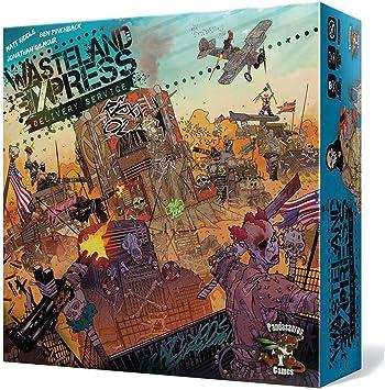 Asmodée- Wasteland Express Delivery Service - Español, Color (PANGWE01ES): Amazon.es: Juguetes y juegos