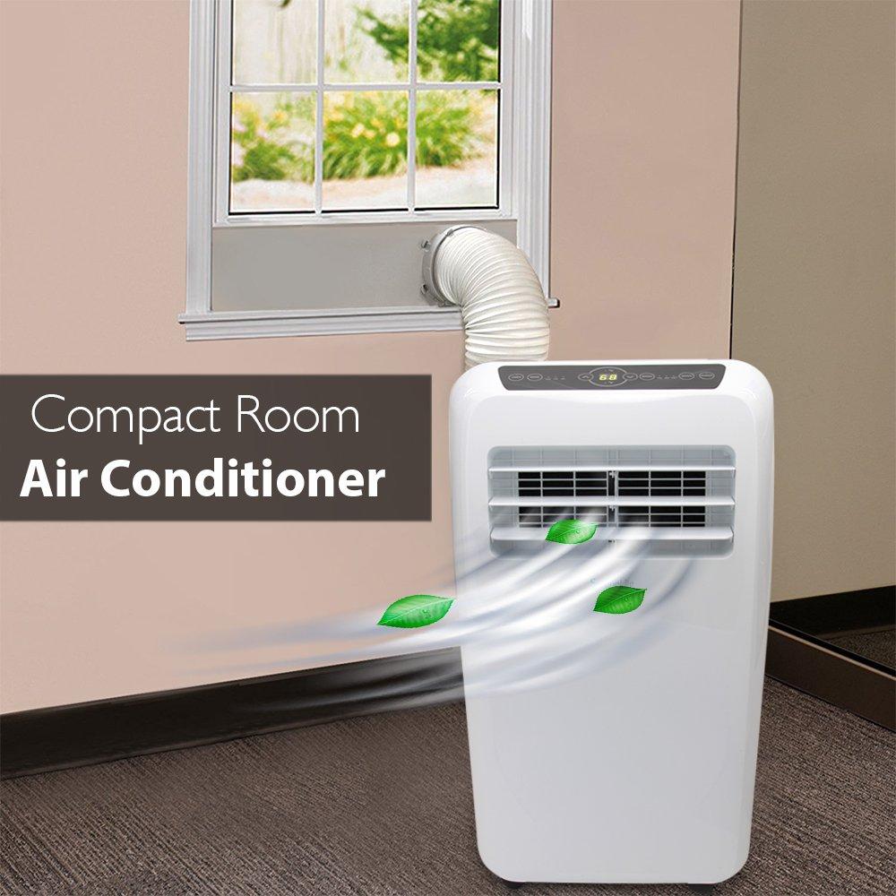 SereneLife 10,000 BTU Portable Air Conditioner, 3-in-1 ...