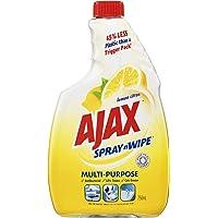 Ajax Spray n' Wipe Multi-Purpose Antibacterial Disinfectant Household Grade Cleaner Lemon Citrus Refill Value Pack Made…