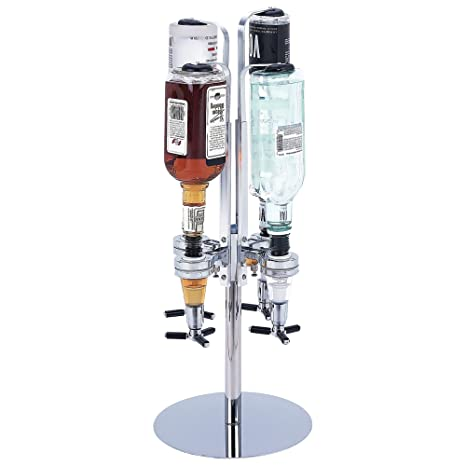 Amazon com - Wyndham House 4-Station Liquor Dispenser - Liquor Decanters