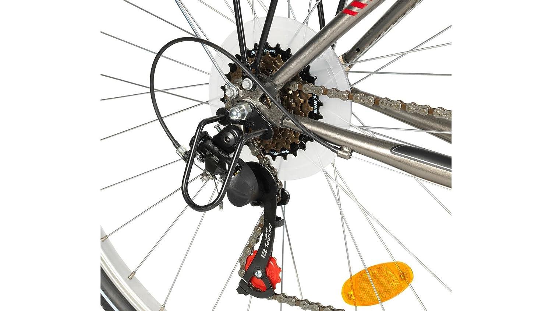 PERFORMANCE Trekkingrad Damen Perth, 28 Zoll, 18 Gang, V-Bremsen 71 ...