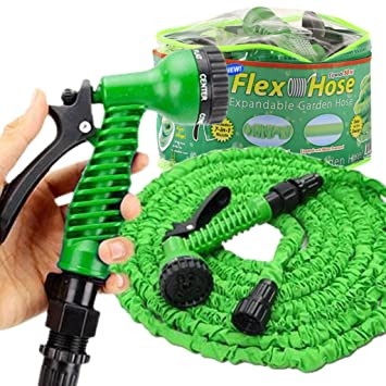 Amazoncom Expandable Flex Garden Hose 50 Foot Strong No Kink