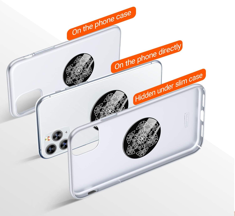 Multi-Color Sheet Discs for Magnetic Cell Phone Car Holder TORRAS Magnet Mount Metal Plates