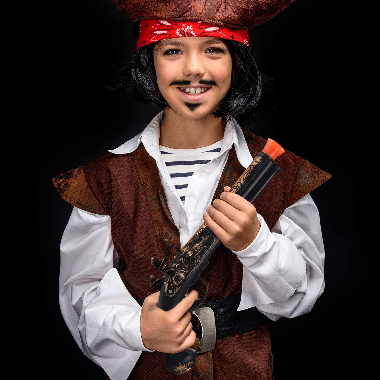 Boao 4 Piezas Espada de Pirata de Plástico Pistola de Pirata ...