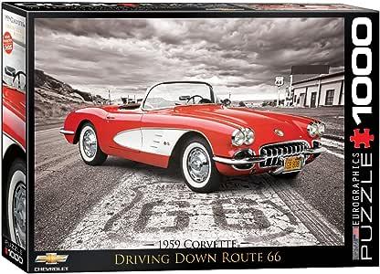 a partir de 1997/al 2004 Alfombras negros para coche juego completo de alfombras de moqueta sobre tama/ño con bordado de hilo rojo Chevrolet Corvette C5/