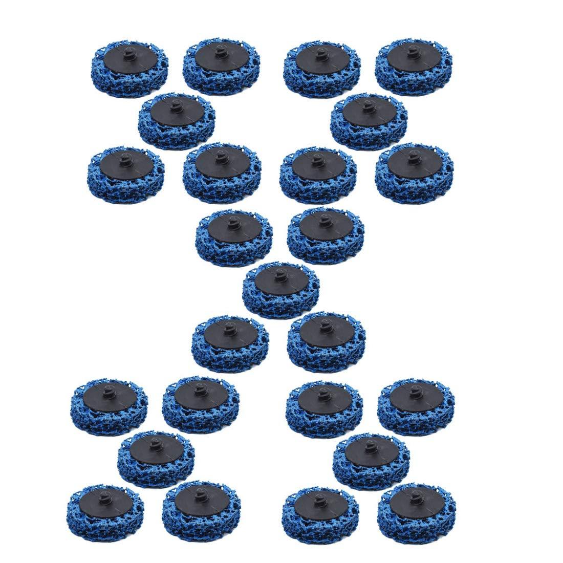 New 10 Pack 2 Quick Change Roloc Easy Strip /& Clean Discs for Paint Rust