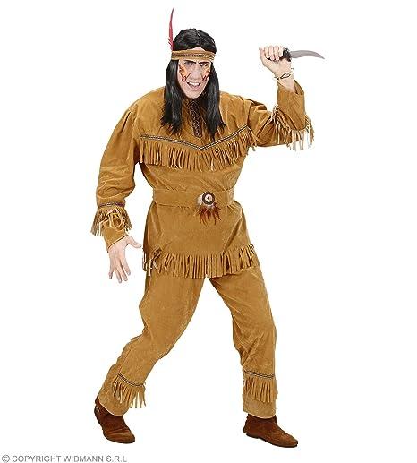 f21e1c46f7dbc WIDMANN Desconocido Disfraz de Indio Apache Lujo Adulto  Amazon.es ...