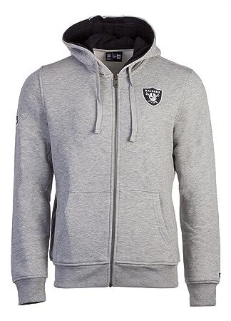 A NEW ERA Era Ne92196Fa16 NFL Full Zip Oakrai Sudadera-Línea Oakland Raiders, Hombre, Gris (dk Grey), XS: Amazon.es: Deportes y aire libre