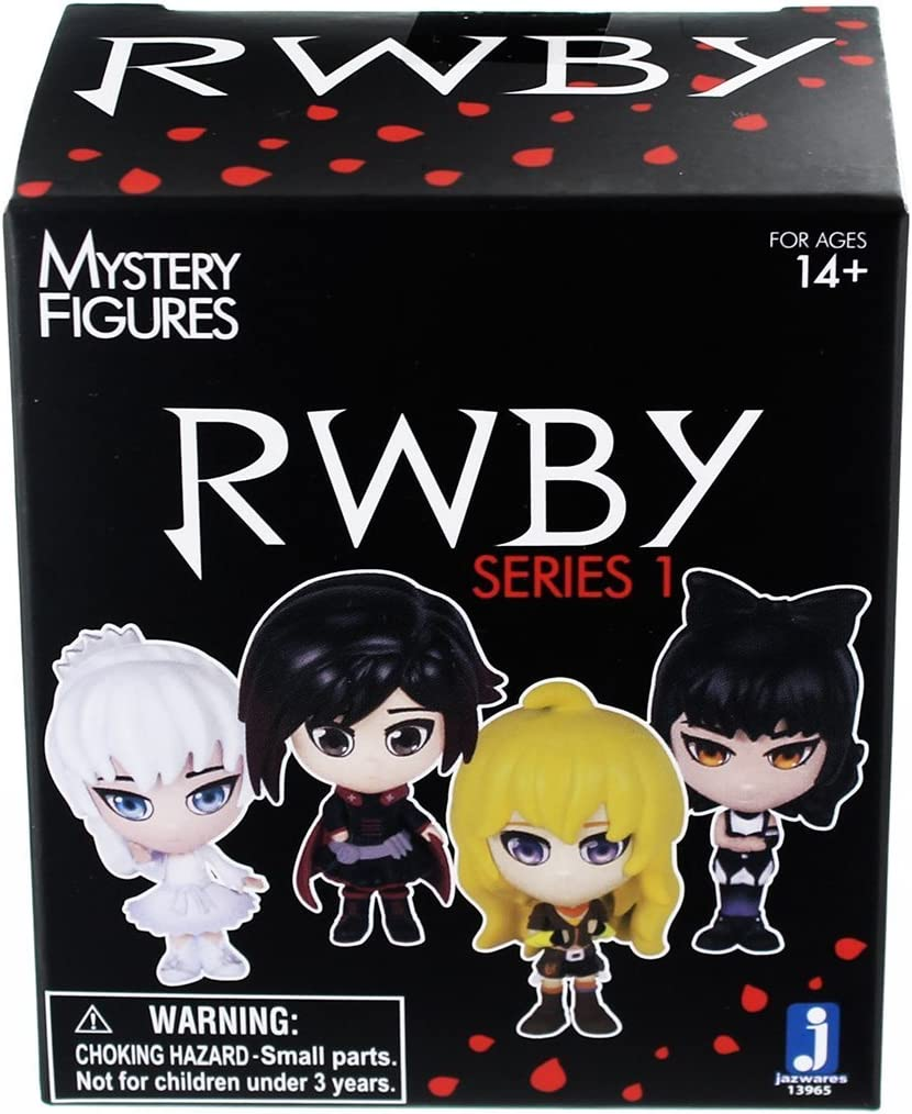RWBY Rooster Teeth Mystery Figure Series 3 Weiss