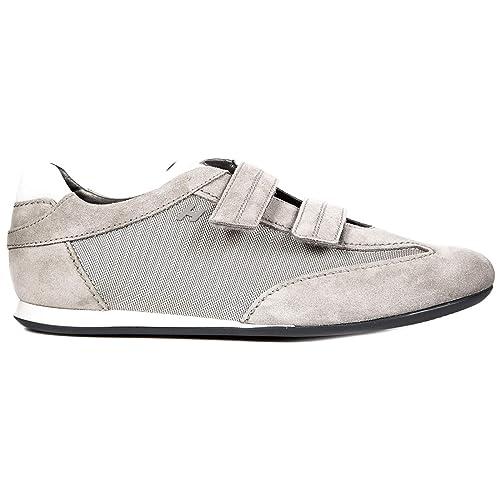 Hogan Sneakers Olympia Uomo Grigio 39.5 EU  Amazon.it  Scarpe e borse 2114e5d70a2