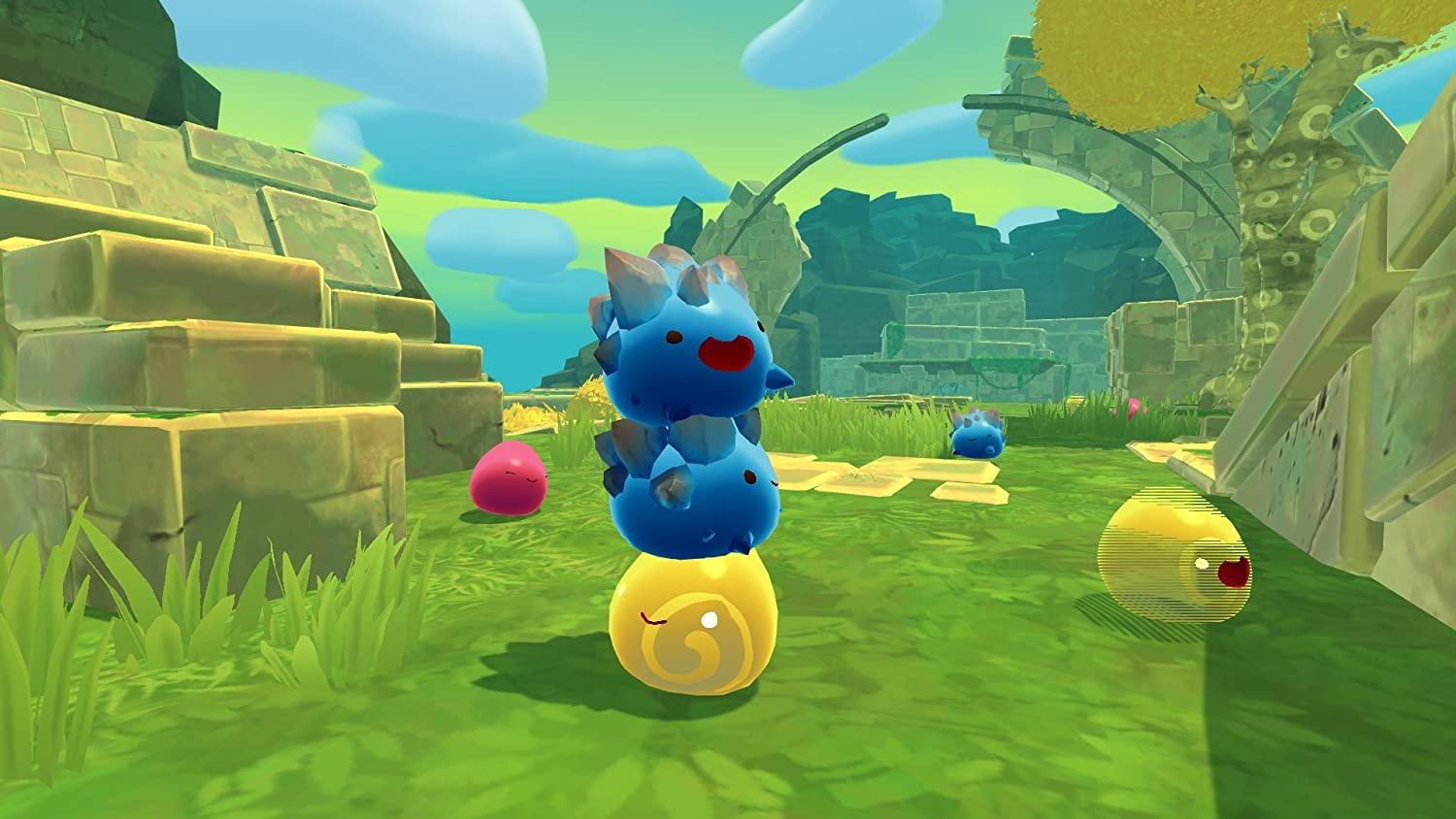 Amazon com: Slime Rancher - PlayStation 4: Video Games