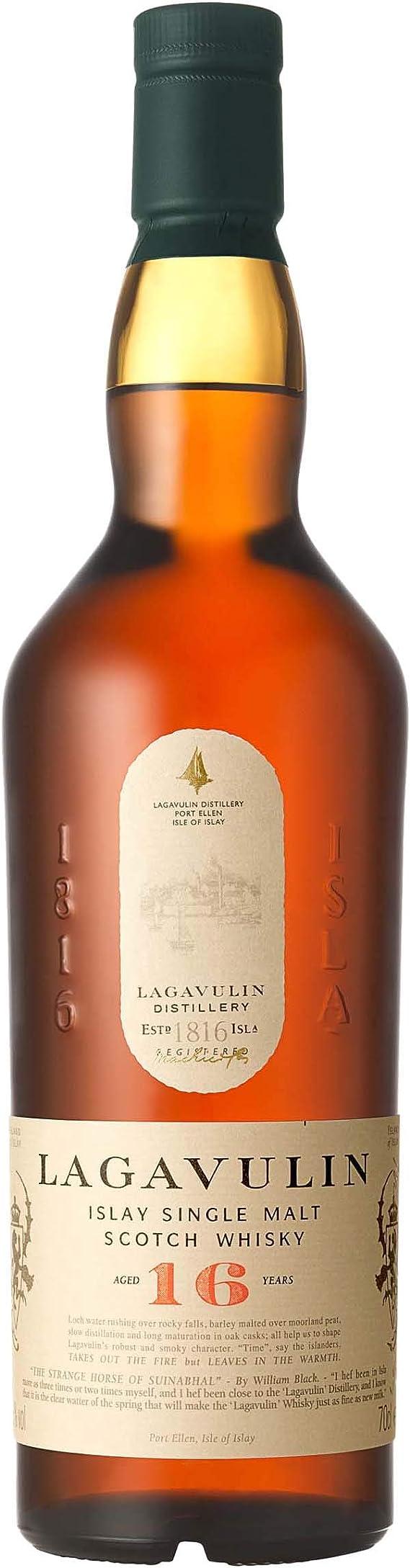 Lagavulin 16 Whisky Escocés, 700ml