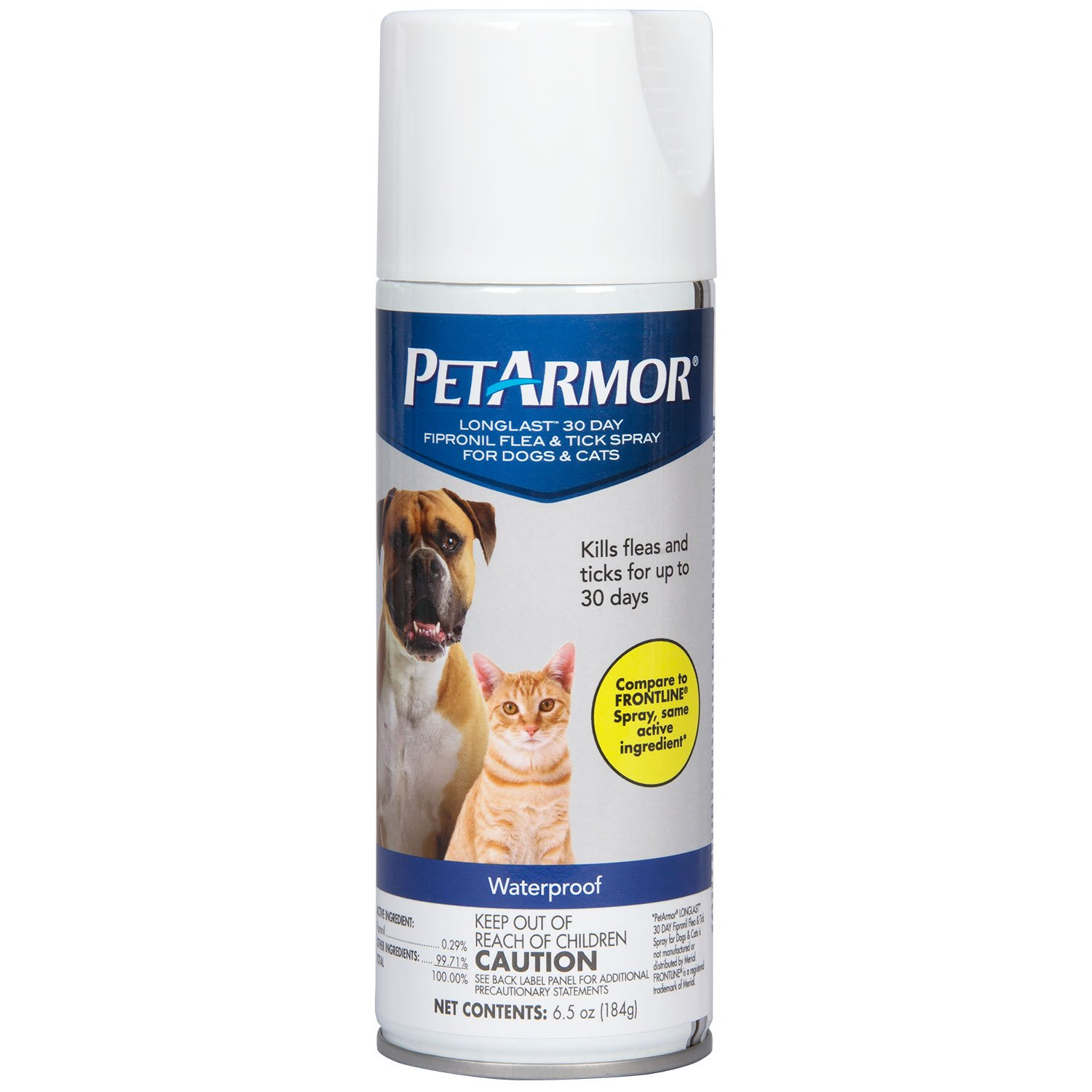 PETARMOR LongLast Fipronil Flea and Tick Spray for Dogs and Cats by PETARMOR