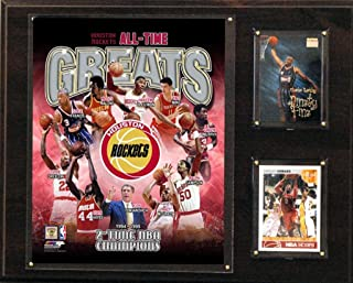product image for NBA Houston Rockets 12x15-Inch All Time Greats Photo Plaque