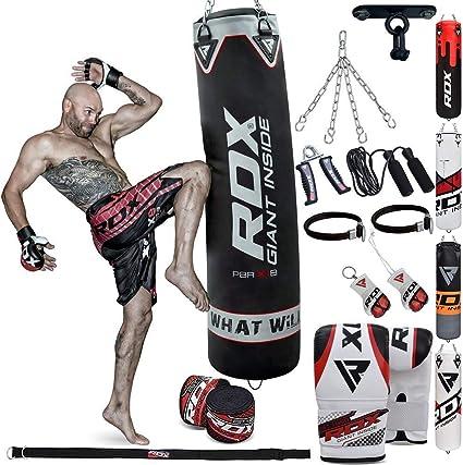 RDX Unfilled Punching Bag Kids Kick Boxing Set Training Martial Arts MMA CA