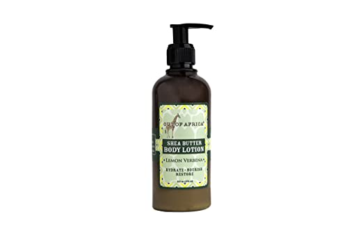 Out of Africa Lemon Verbena Body Lotion, 9 Ounce
