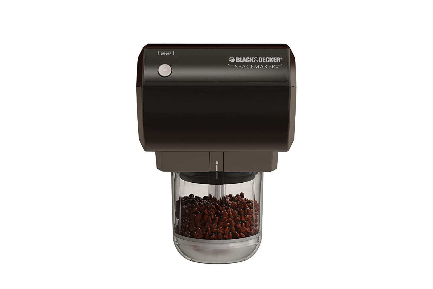 Black & Decker CG800B Spacemaker Traditional Mini Food Processor and Coffee Grinder, Black