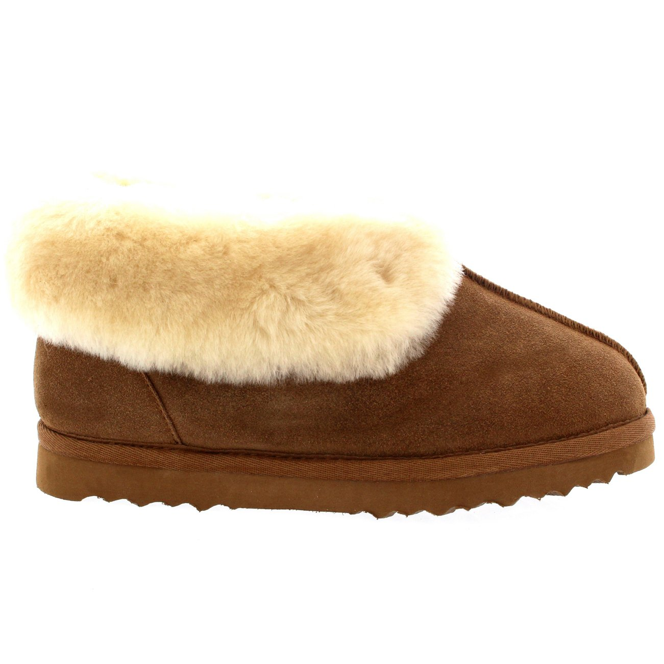 00f7f6be11053 POLAR Womens Real Suede Australian Lined Warm House Slipper Boots:  Amazon.co.uk: Shoes & Bags