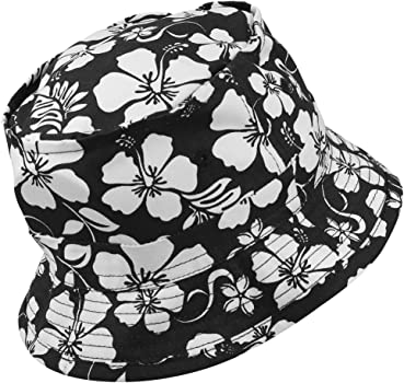 a7f73e877 Armycrew Hibiscus Hawaiian Tropical Floral Print Fisherman's Bucket ...