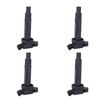 Amazon.com: Set of 4 Ignition Coils for Toyota Camry Lexus Scion 2.4 on ignition coil repair, ignition coil plug, ignition fuse box diagram, ignition coil engine, ignition system, coil on plug diagram, ignition coil toyota, ignition starter diagram, ignition coil ford, ignition coil voltage, ignition coil wire, ignition coil external resistor diagram, chevy ignition coil diagram, car ignition coil diagram, ignition coil capacitor, ignition coil schematic, ignition condenser function, ignition coil distributor diagram, ignition coil power, circuit diagram,