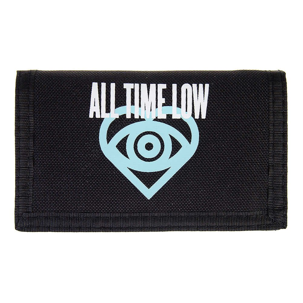 Cartera Future Hearts de la banda All Time Low Negro talla unica