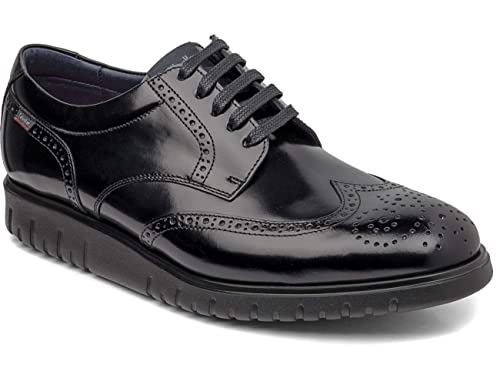 Callaghan 10501 Derby - Scarpe stringate da uomo nero Size  46  Amazon.it   Scarpe e borse 7e71569a729