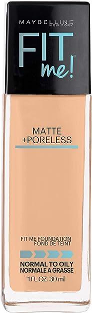 Maybelline Base de Maquillaje Fit Me Matte, 220 Natural Beige