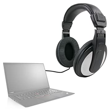 "DURAGADGET Auriculares De Diadema para Portátil Lenovo ThinkPad X1 Carbon/LG gram 15"" /"